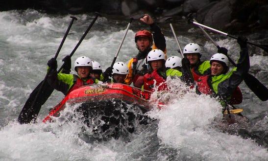 White Water Adventures In Turangi, New Zealand