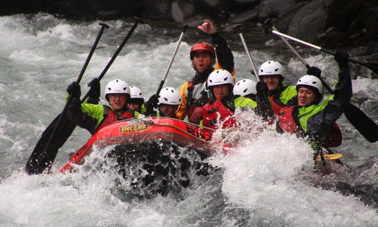 White Water Adventures In Turangi, New Zealand