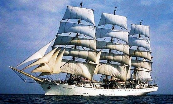 DAR MLODZIEZY Wind Jammer Cruises worldwide