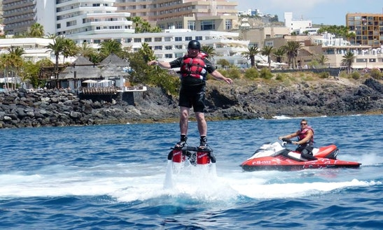 Flyboard Ride In Adeje