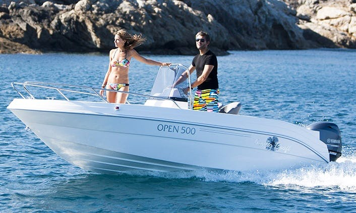 Center Console ''Pacific Craft 500 Open'' Rental in Saint-Cyprien