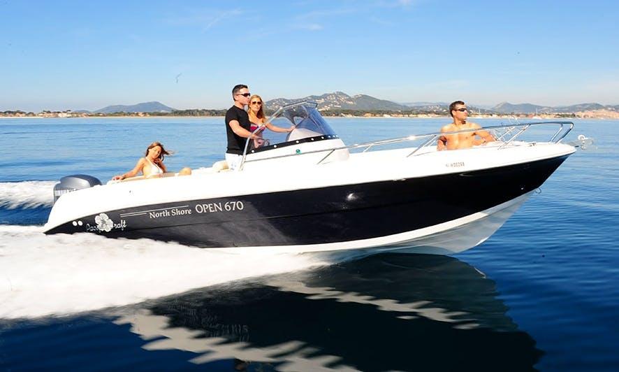 "Luxury ""Pacific Craft 670 Open"" Rental in Saint-Cyprien"