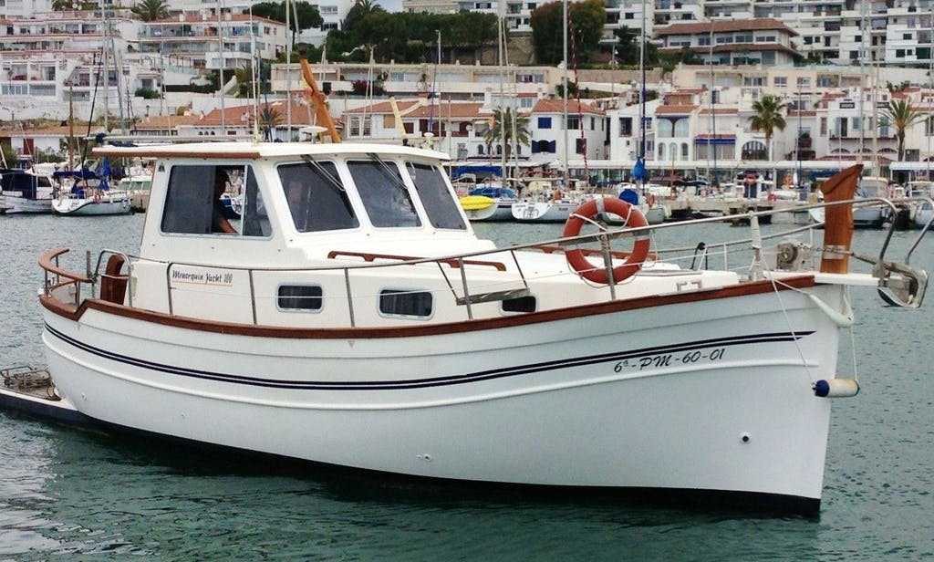"""""""Mar de Coral"""" Yacht Charter in Sitges"""