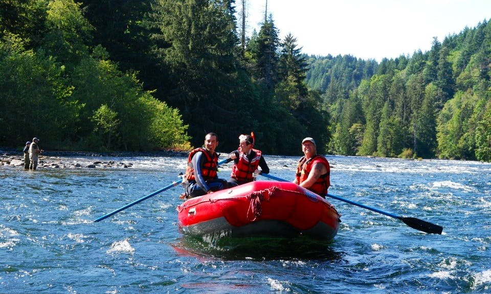 Raft and Snorkel Trip In Campbell River