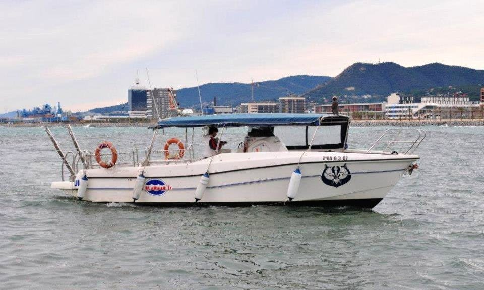 "Dive Boat ""Ula"" Diving Charter in Mataro, Spain"