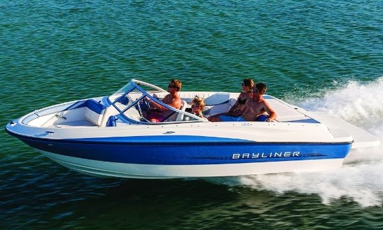 18' Bayliner Bowrider Rental In Traverse City, Michigan