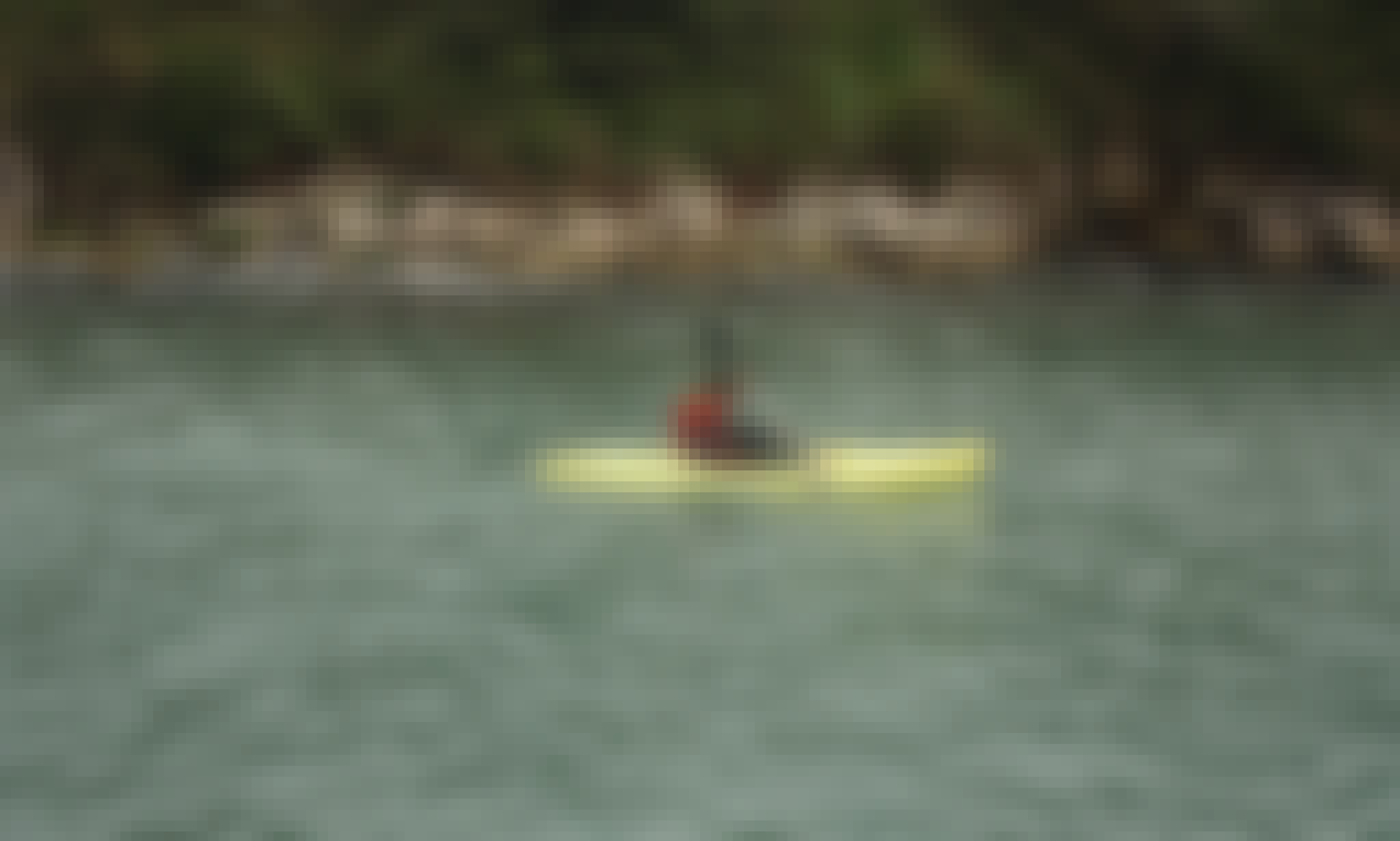 Single Kayak for Hire in Coffs Harbour, Australia