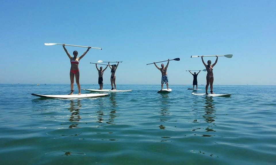Stand Up Paddle Lesson In Estepona