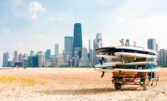 Stand Up Paddle Board Rental In Chicago