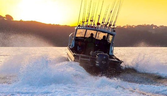 Hire Fishing Boat In Whitianga