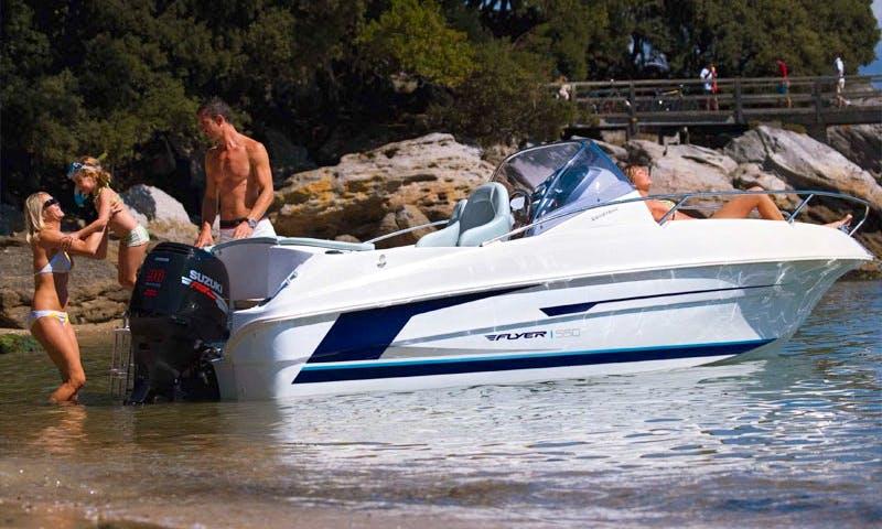 18' Beneteau Motorboat In Cala Ratjada