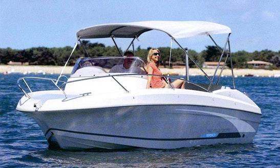 16' Beneteau Motor Boat In Cala Ratjada