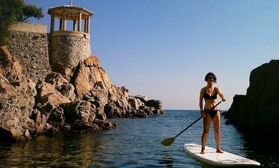 Paddleboard Charter In Sant Feliu De Guixols, Spain