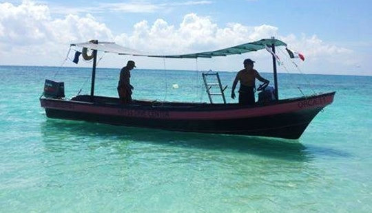 Snorkeling Tour Boat In Playa Del Carmen