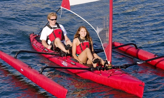 Luxurious Trimaran Rental In Guadeloupe