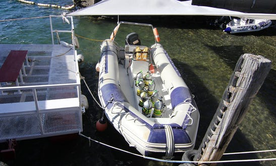 Dive Boat In San Carlos De Bariloche