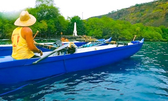Guided Outrigger Canoe Tours In Captain Cook