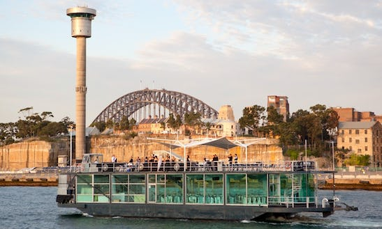 Experience Sydney Harbour On Pontoon Glass Boat