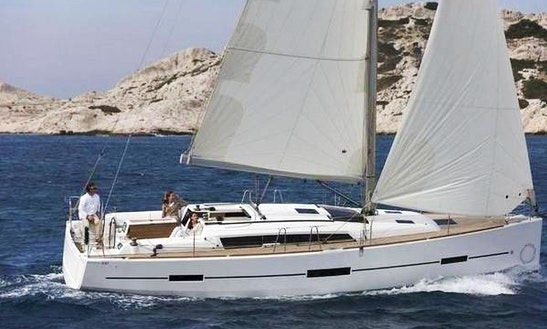 38' Dufour 380 'mady' Cruising Monohull Charter In Vallauris, France