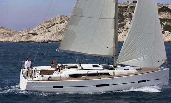 Take Advantage Of The Charms Of The Côte D'azur Aboard Dufour 380 Sailing Yacht