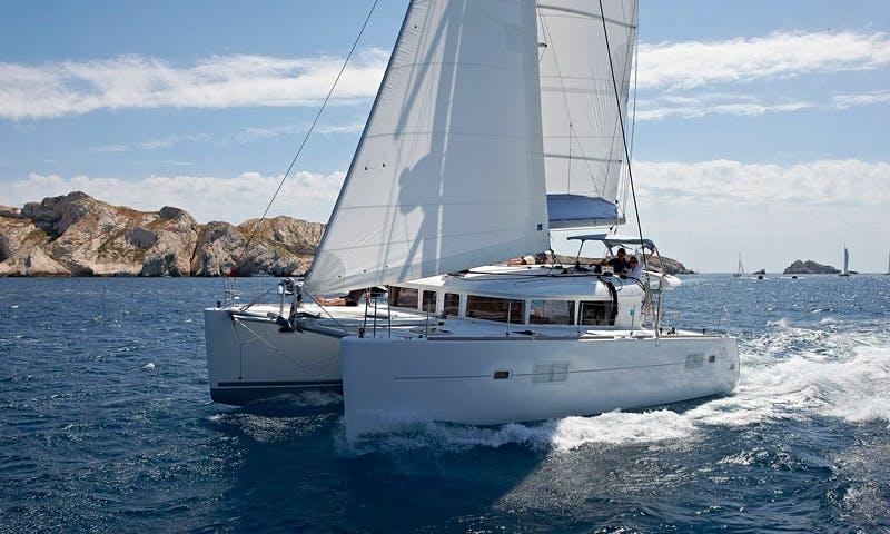 Lagoon 400S-2 Catamaran Charter in Vallauris