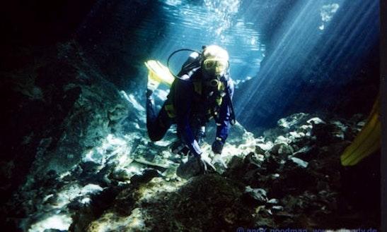 Diveteulum Cavedive, Fundive, Snorkeling In Tulum, Mexico
