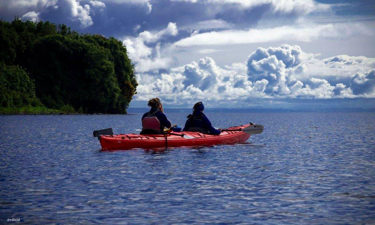 Sea Kayak Trip on Reloncavi's Fjord, Chile