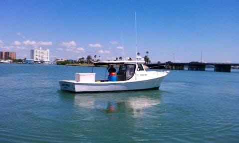 "Saint Pete Fishing Charter On 32ft ""Pura Vida"" Boat With Captain Greg"