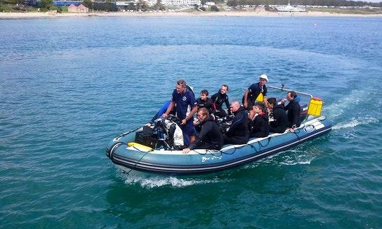 22' Dive Boat In Mossel Bay