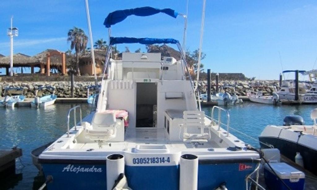 Fishing charter on the alejandra boat in san jos del cabo for San jose del cabo fishing charters