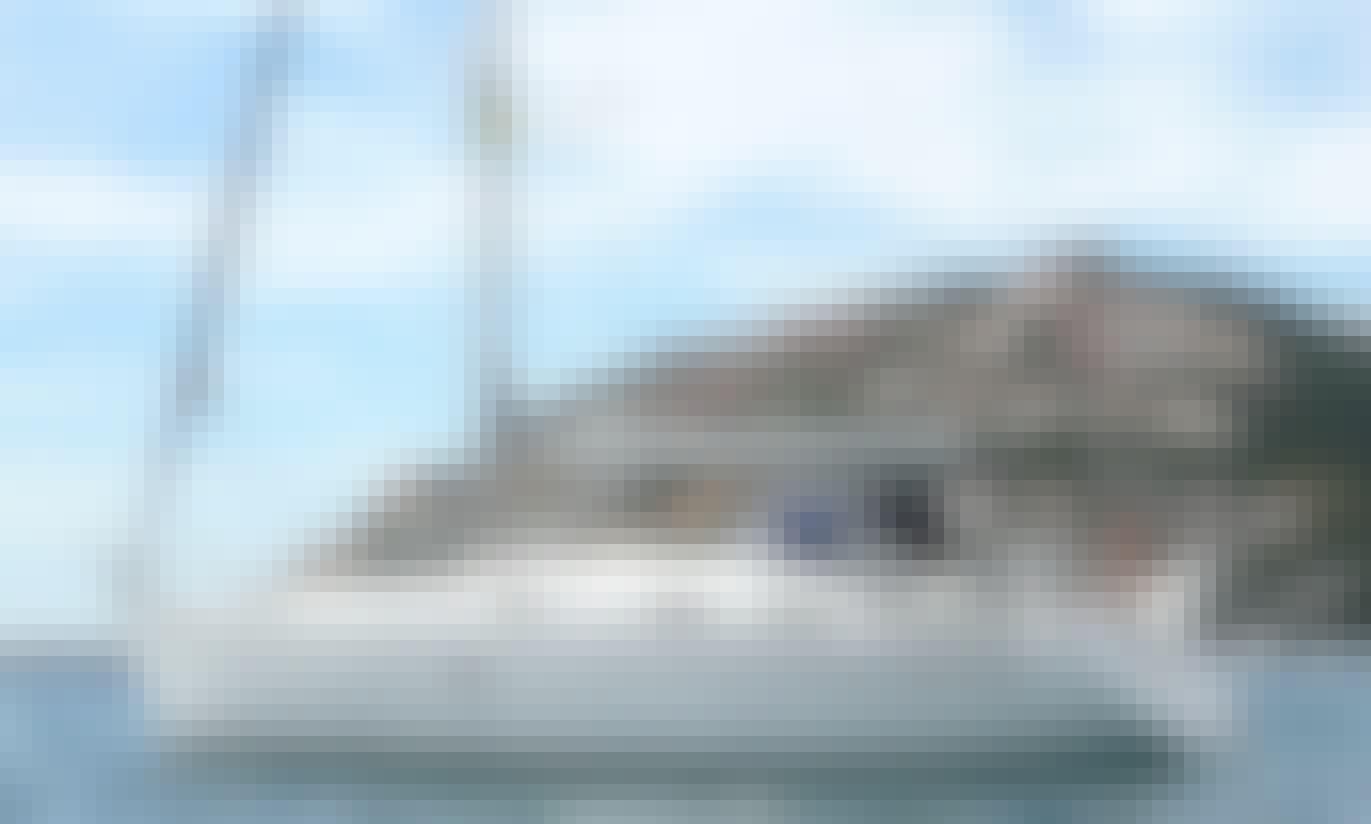 Explore Mataro, Spain on a 37' Bavaria Cruising Monohull for 8 Person!