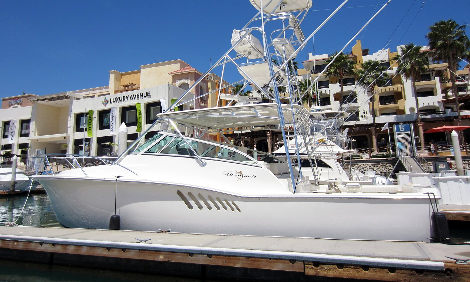 Fishing Charter on a 38' Albemarle Express in San José del Cabo