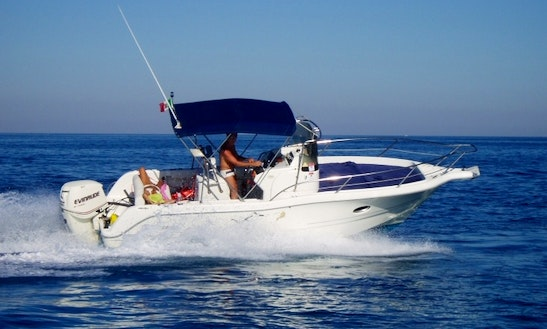Sessa Key Largo 23' Center Console Rental In Mataro, Spain