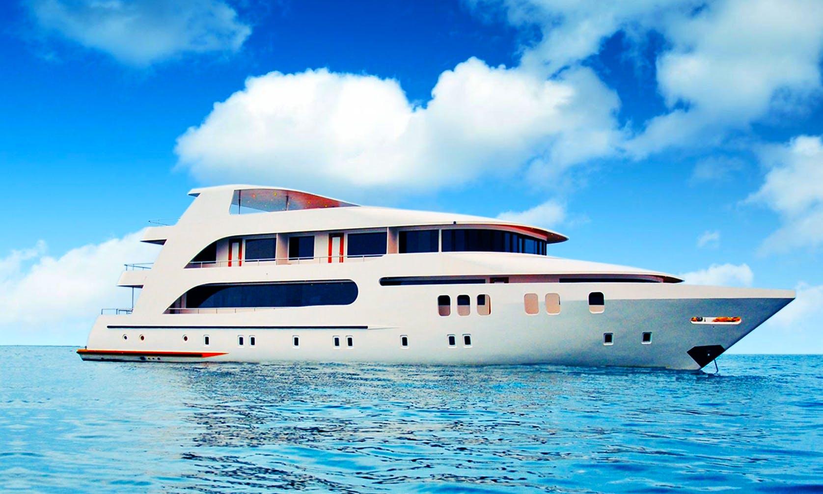 "Charter 123ft ""MV Adora"" Power Mega Yacht In Male, Maldives"