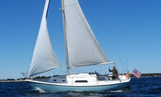 30' Sloop Charter In Boothbay Harbor, Maine