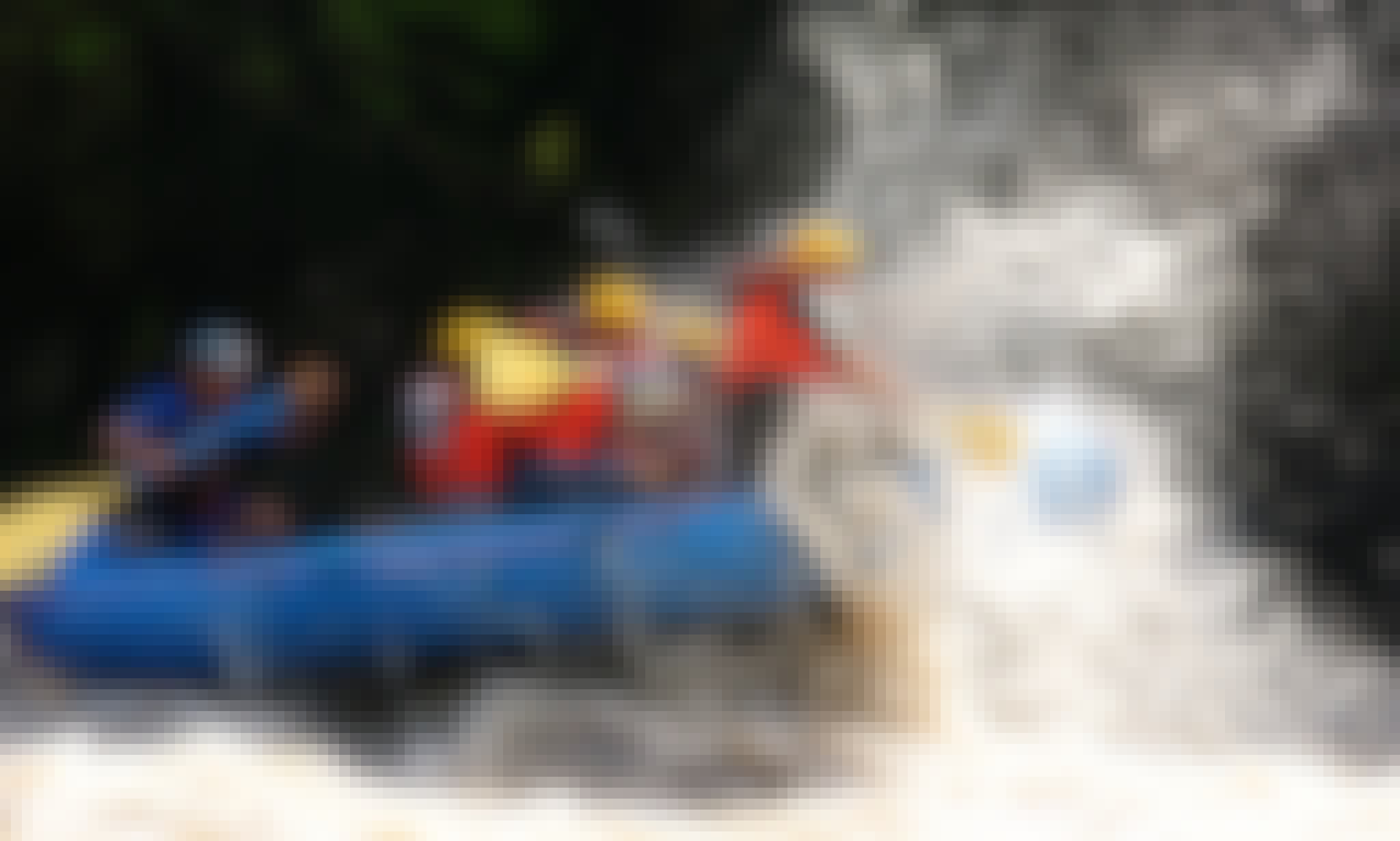 Extreme Water Rafting in the Amacuzac River