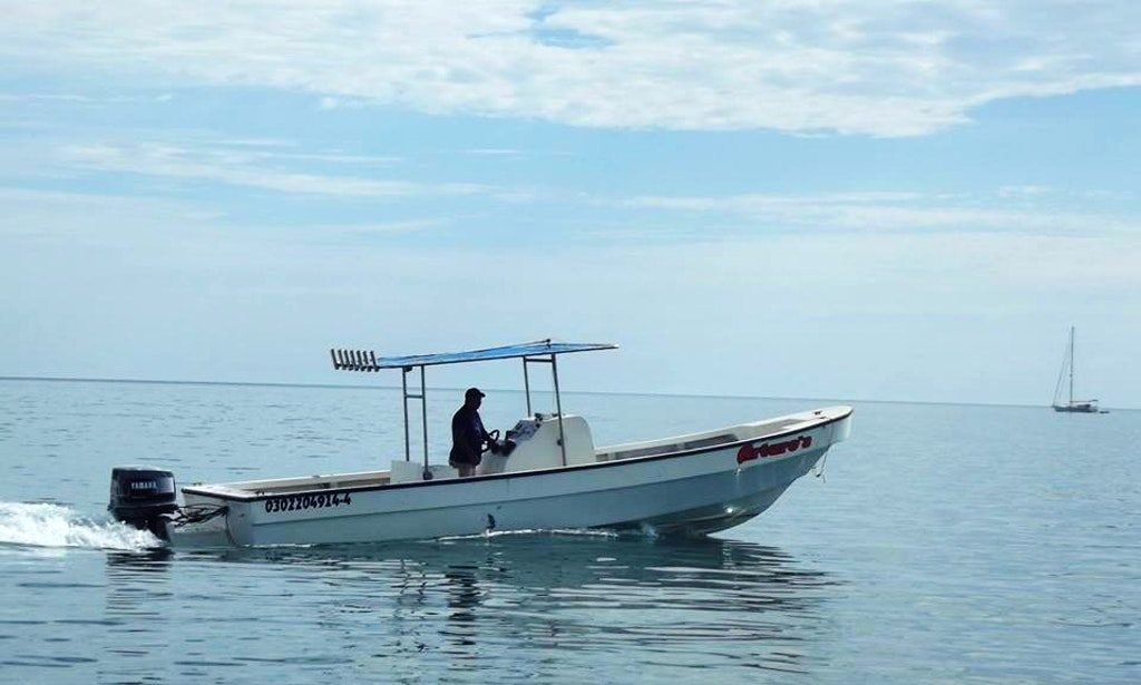 29 39 center console deluxe super panga fishing charter in for Loreto mexico fishing
