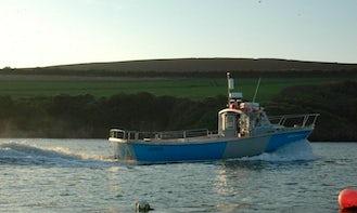 Charter 33' Fishing Boat In Cornwall