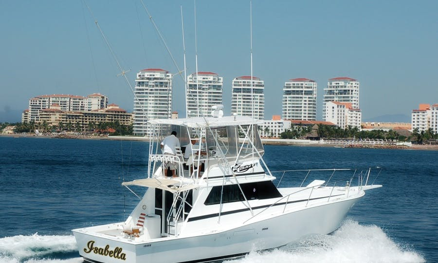 "Fishing Charter 44ft ""Isabella"" Sport Fisherman Yacht In Nuevo Vallarta, Mexico"
