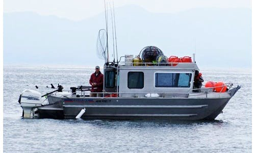 "24' Head Boat ""Earls Girl"" Fishing Charter in Prince Rupert, Canada"