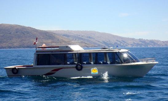 Passenger Boat Charter In Puno, Peru
