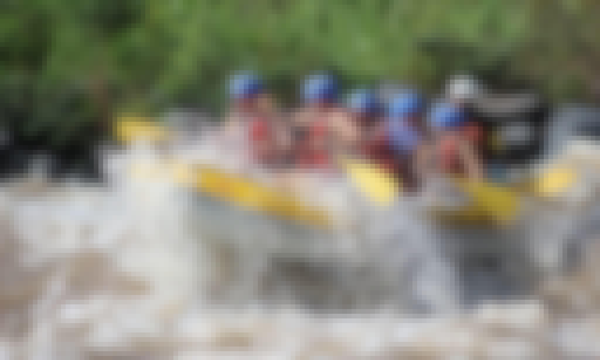 Rafting Adventures in River Antigua