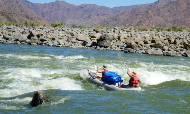 Orange River Rafting In Cape Town