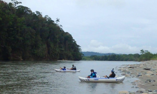 Inflatable Kayaking Tour In Ecuador