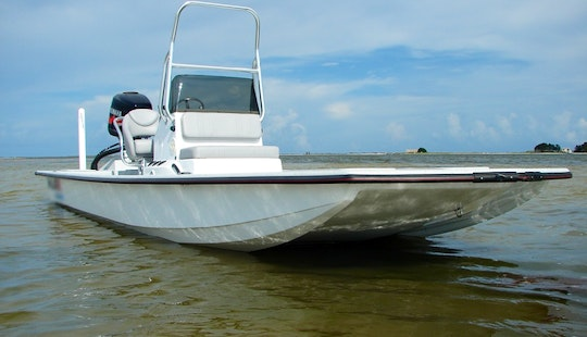 22ft Custom Flats Bass Boat In Belle Chasse, Louisiana