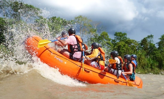Rafting In Napo, Ecuador