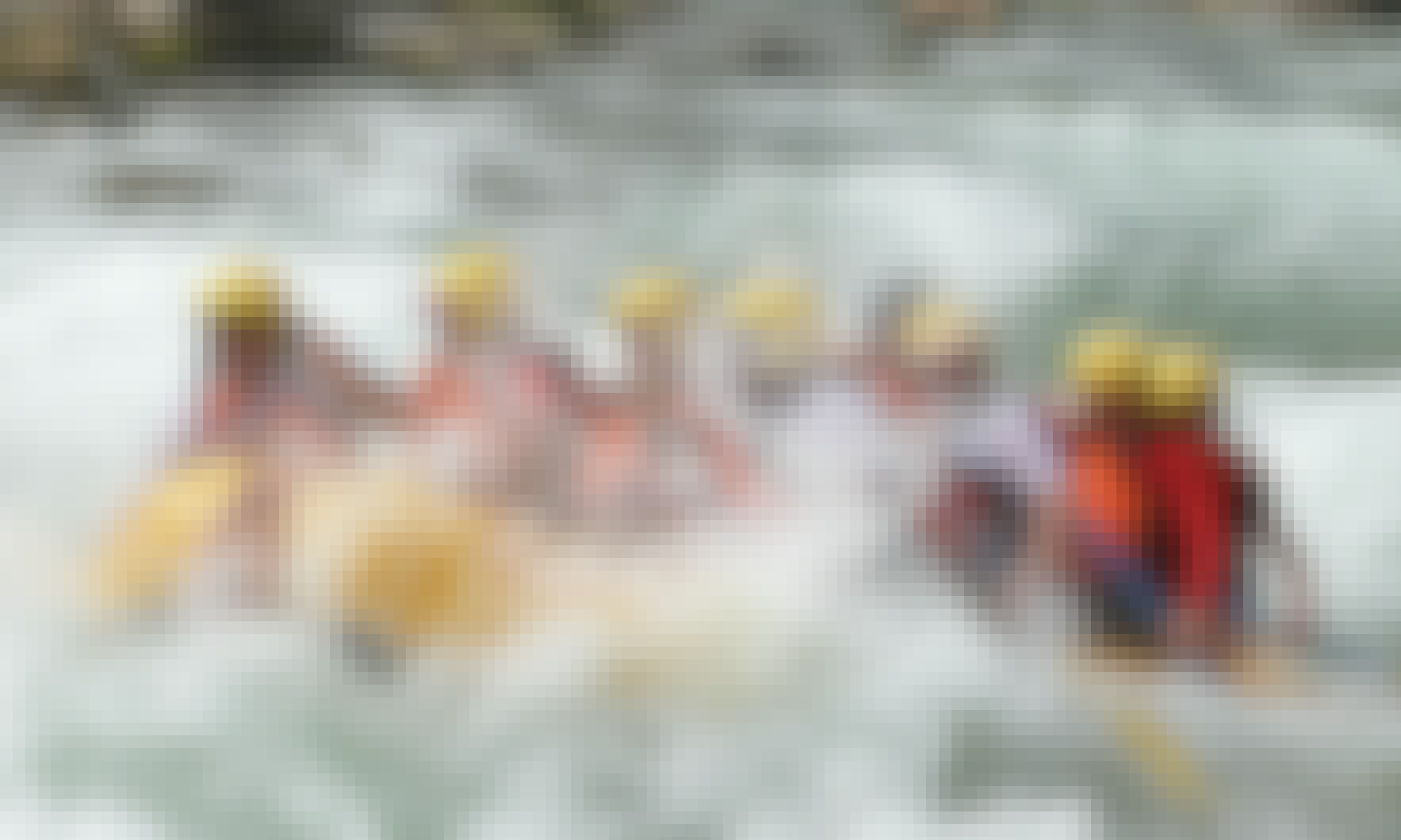 Water Rafting in River Canete, Lunahuaná