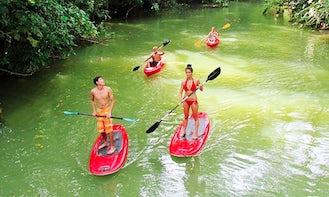 Paddleboard to Punta Uva in Manzanillo, Costa Rica