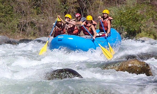 Rafting Tours in the Oaxaca River, Mexico