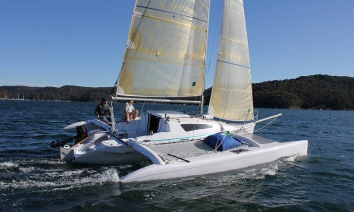 24' Lightweight Trimaran Rental In Cartagena, Colombia